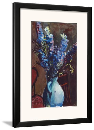 Larkspur-Josef Dobrowsky-Framed Art Print