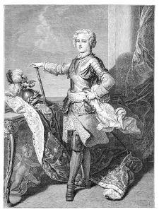 A Young Louis XV by Larmessin