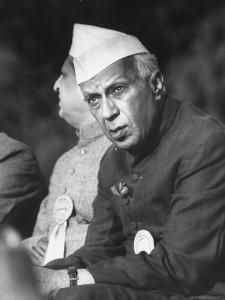 Indian Prime Minister Jawaharlal Nehru by Larry Burrows