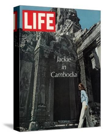 Jacqueline Kennedy in Cambodia, November 17, 1967