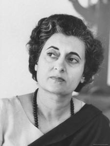 Mrs. Indira Gandhi by Larry Burrows