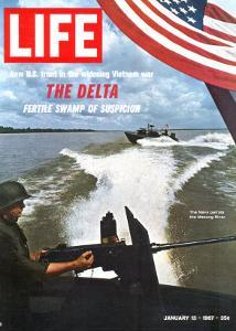 US Navy Presence on Mekong River During Vietnam War, January 13, 1967 by Larry Burrows
