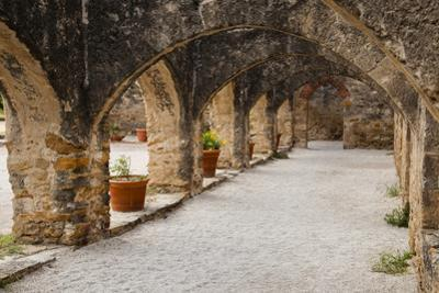 Archway at Mission San Jose by Larry Ditto