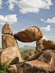 Grapevine Hills and Balanced Rock, Big Bend National Park, Brewster Co., Texas, Usa by Larry Ditto