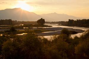 Snake River in Swan Valley, Idaho, USA by Larry Ditto