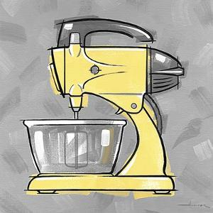 2-Mixer Yellow by Larry Hunter