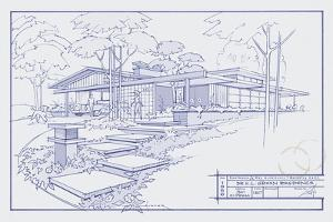 301 Cypress Dr. Blueprint by Larry Hunter