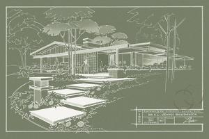 301 Cypress Dr. Moss - Inverse by Larry Hunter