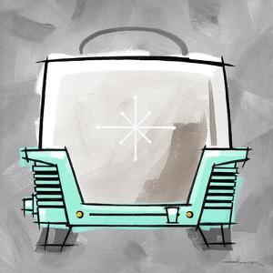 4-Toaster Aqua by Larry Hunter