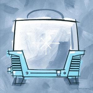 Blue On Blue Toaster by Larry Hunter