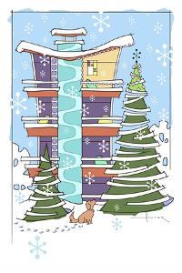Christmas HiRise by Larry Hunter