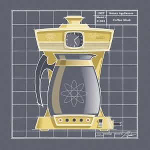 Galaxy Coffeemaid - Sunflower by Larry Hunter