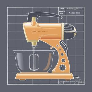 Galaxy Mixer - Tangerine by Larry Hunter