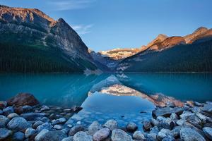 Lake Louise Dawn II by Larry Malvin