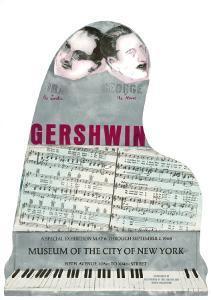 Gershwin by Larry Rivers