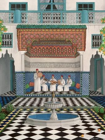 A Riad in Marrakech, 1992