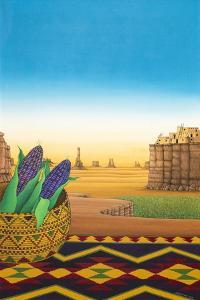 Hopi Blue Corn, 1998 by Larry Smart