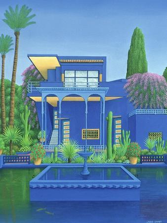 Majorelle Gardens, Marrakech, 1996