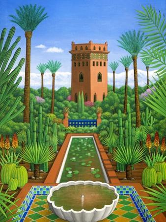 Marjorelle Cactus, 2004 by Larry Smart