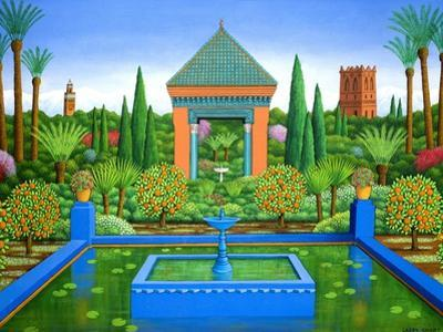 Marjorelle Oranges, 2005 by Larry Smart