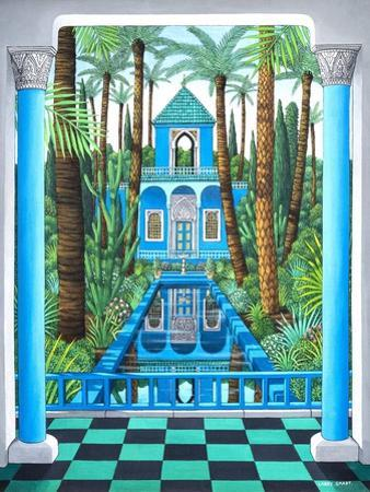 Marjorelle Reflections, 1998 by Larry Smart
