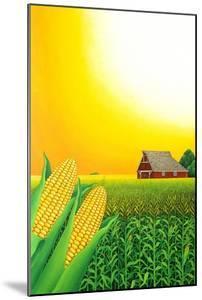 Nebraska Cornfield, 1993 by Larry Smart
