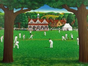The Cricket Match, 1987 by Larry Smart