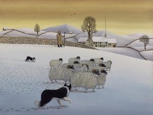 The Fells in Winter, 1984 by Larry Smart