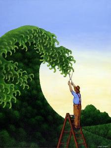Topiary Wave by Larry Smart