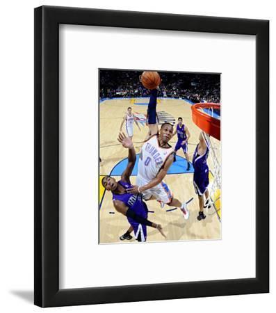 Sacramento Kings v Oklahoma City Thunder: Russell Westbrook and Donte Greene