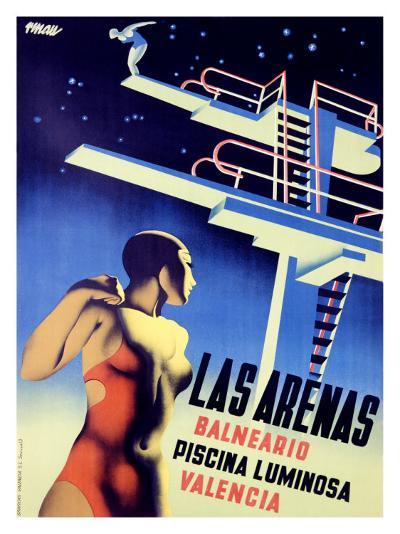 Las Arenas-Josep Renau Montoro-Giclee Print