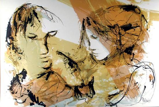 Las dos Mujeres-Gino Hollander-Collectable Print