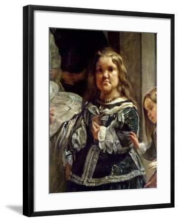 Las Meninas or the Family of Philip Iv, C.1656-Diego Velazquez-Framed Giclee Print