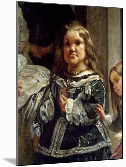 Las Meninas or the Family of Philip Iv, C.1656-Diego Velazquez-Mounted Giclee Print