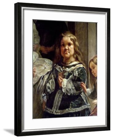 Las Meninas or the Family of Philip Iv, C.1656-Diego Velazquez-Framed Giclee Print