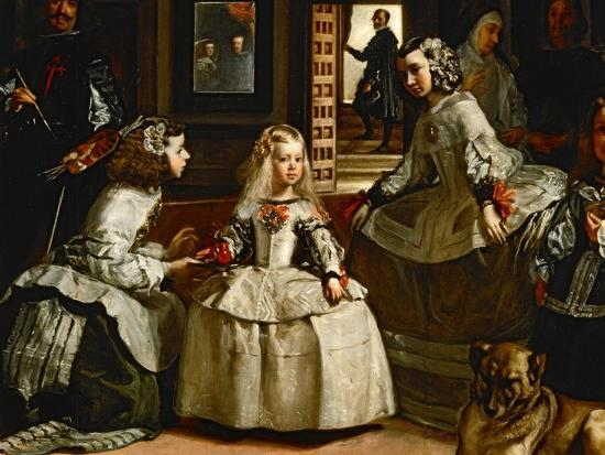 Las Meninas The Maids Of Honour Detail Giclee Print By Go Velazquez Art