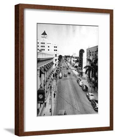 Las Olas Boulevard, Fort Lauderdale, C.1945
