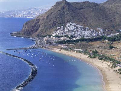 Las Teresitas Beach, Near Santa Cruz De Tenerife, Tenerife, Canary Islands, Spain, Atlantic-Adina Tovy-Photographic Print