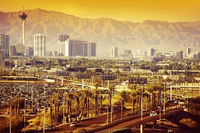 Las Vegas Nevada Cityscape-duallogic-Photographic Print