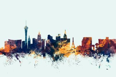 Las Vegas Nevada Skyline-Michael Tompsett-Art Print