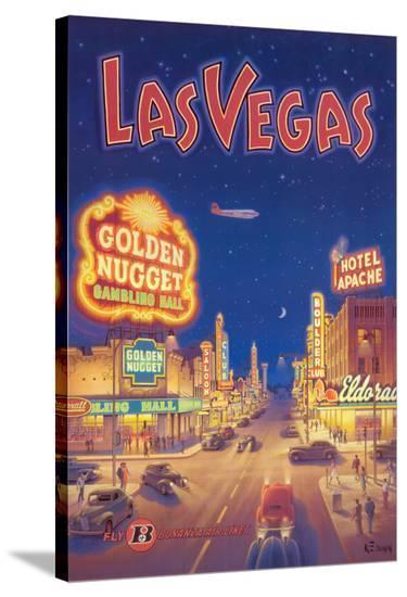 Las Vegas, Nevada-Kerne Erickson-Stretched Canvas Print