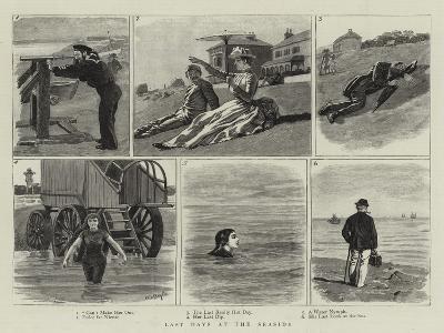 Last Days at the Seaside-William Lockhart Bogle-Giclee Print