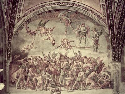 Last Judgement, the Damned, 1499-1502-Luca Signorelli-Giclee Print
