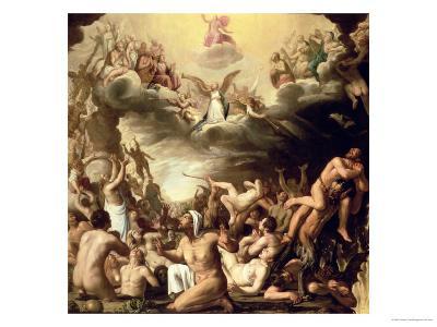 Last Judgement-Nicolaes Eliasz-Giclee Print