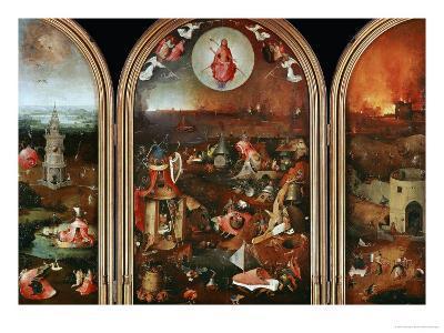Last Judgement-Hieronymus Bosch-Giclee Print