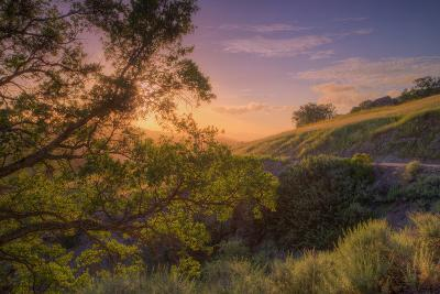 Last Light at Mount Diablo, Northern California-Vincent James-Photographic Print