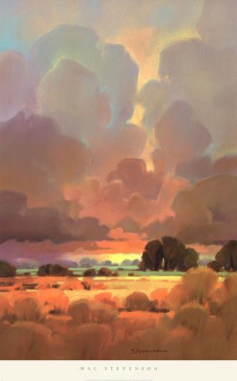 Last Light II-John Stevenson-Art Print