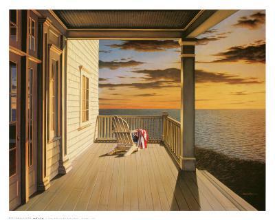 Last Light-Daniel Pollera-Art Print