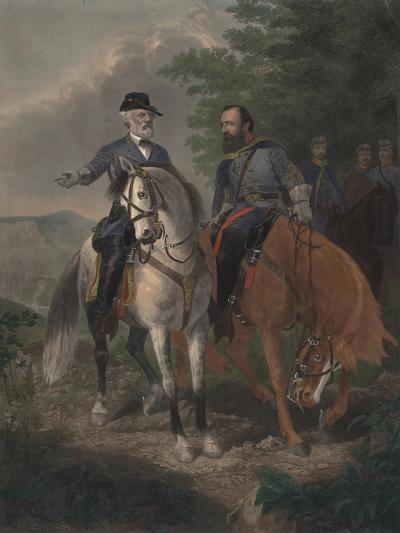Last Meeting Between Generals Lee and Jackson, 1872-Everett D. B. Julio-Giclee Print