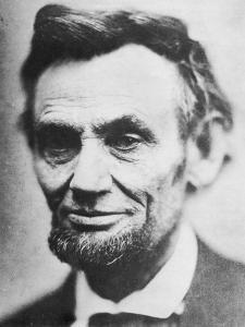 Last Photograph of Abraham Lincoln, (1809-186), April 1865